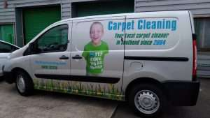 New van, Roffey carpet cleaning